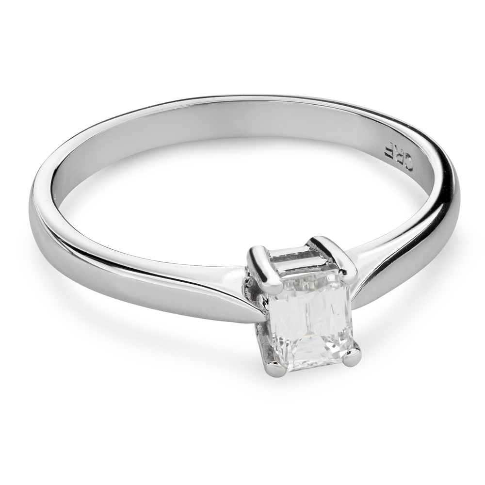 """Engagement ring with diamond """"Strength 107"""""""