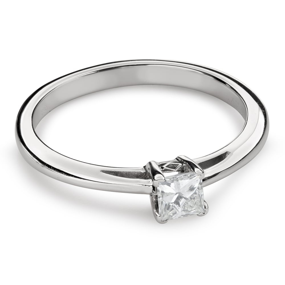 "Engagement ring with diamond ""Princess 90"""