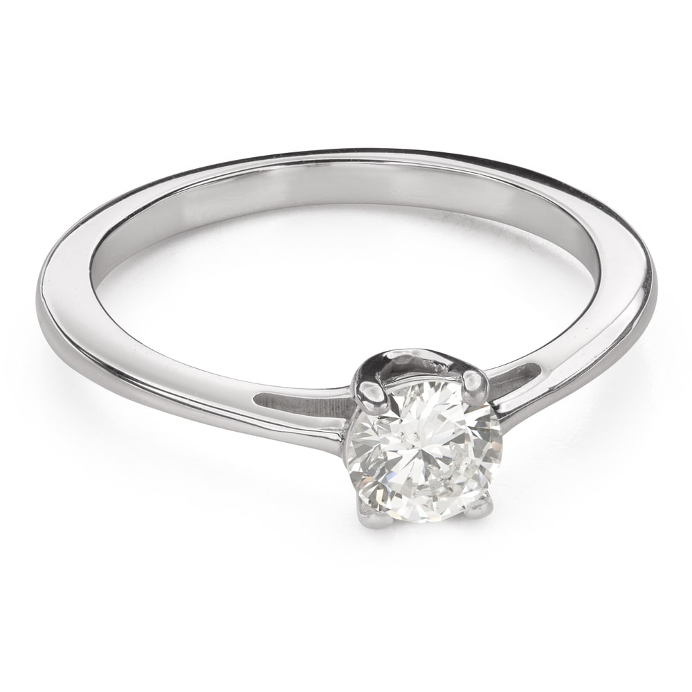 """Engagement ring with brilliant """"Goddess 139"""""""