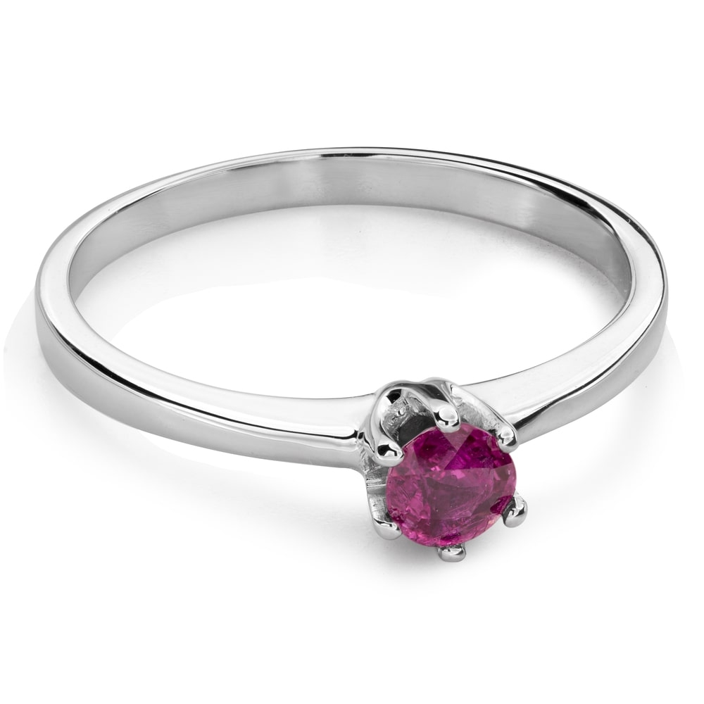 """Engagement ring with gemstones """"Colors 84"""""""
