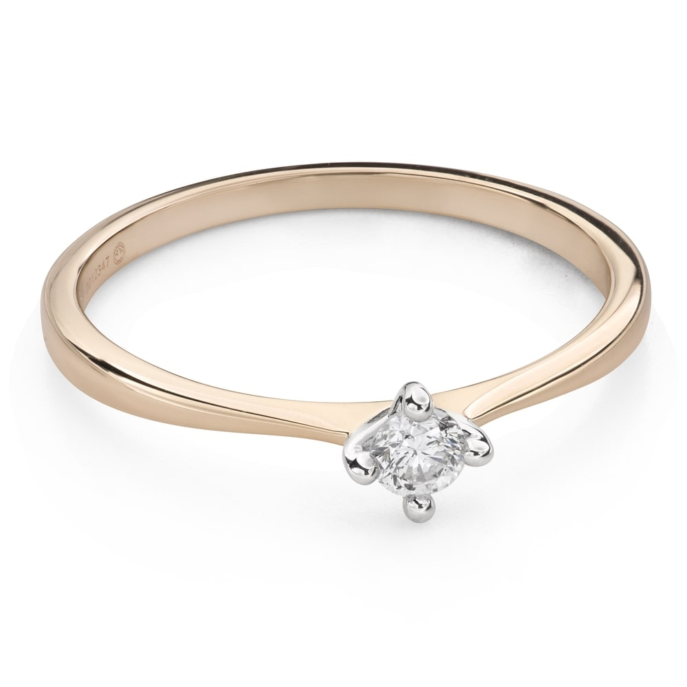 """Engagement ring with brilliant """"Strength 109"""""""