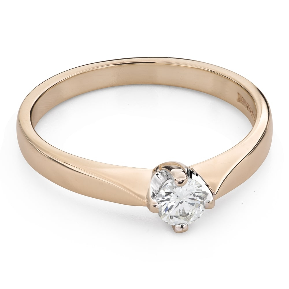 """Engagement ring with brilliant """"The only one 122"""""""