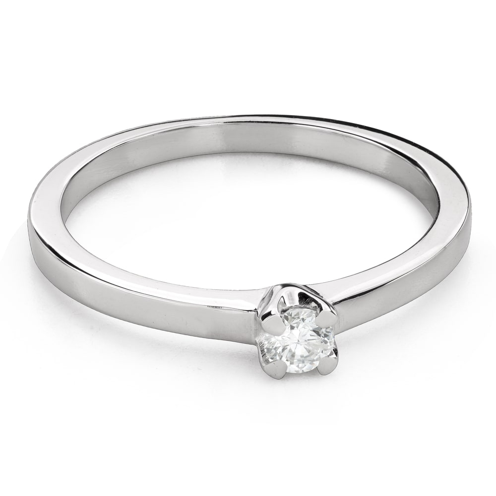"""Engagement ring with brilliant """"Goddess 147"""""""