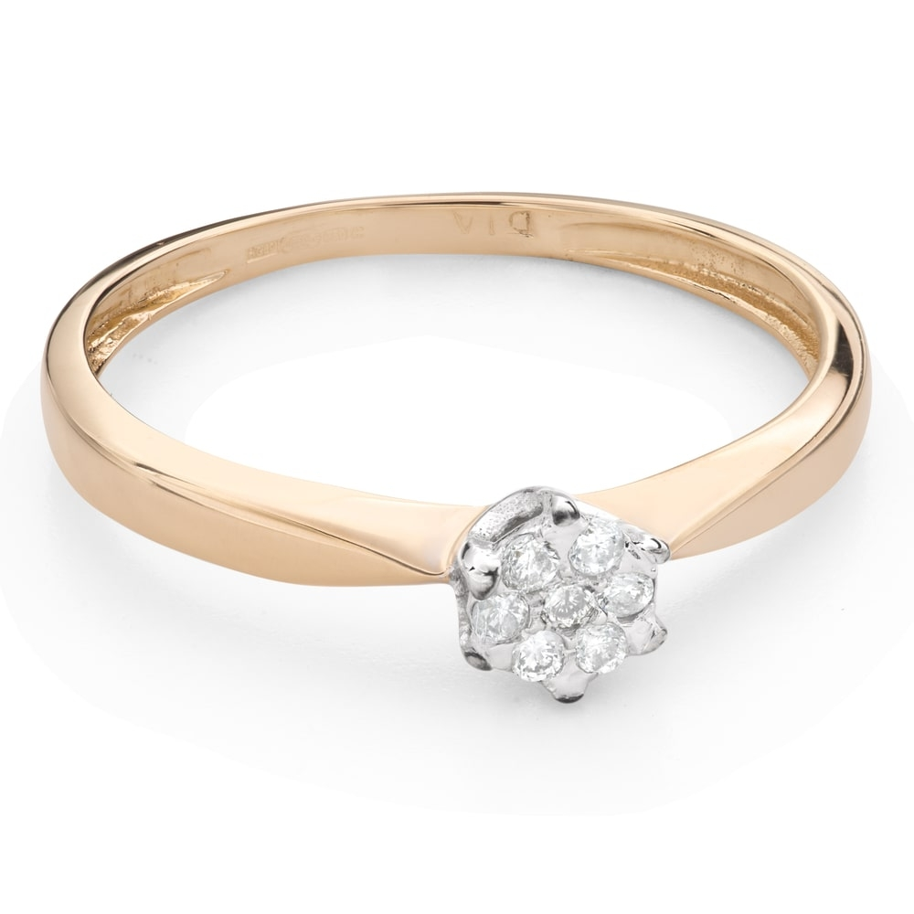 """Engagement ring with brilliant """"Lover 137"""""""