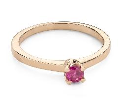 """Auksinis žiedas su brangakmeniais """"Spalvos 91"""""""