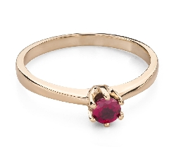 "Gold ring with gemstones ""Colors 94"""