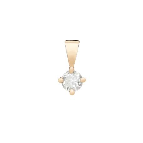 "Gold pendant with brilliant ""Classic 57"""