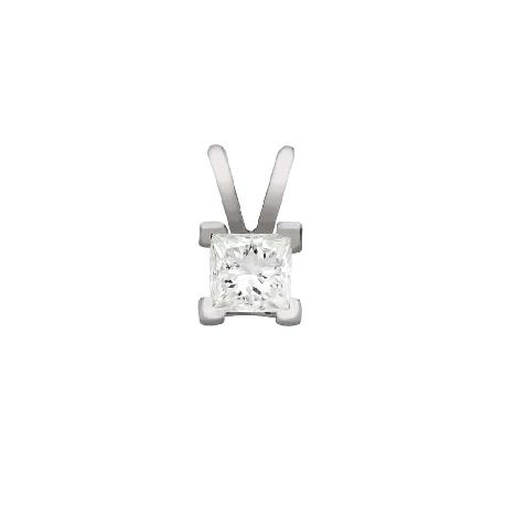 "Gold pendant with diamond ""Princess 105"""