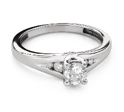 "Engagment ring with brilliants ""Grace 138"""