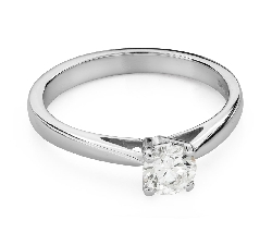 "Engagement ring with brilliant ""Purity 50"""