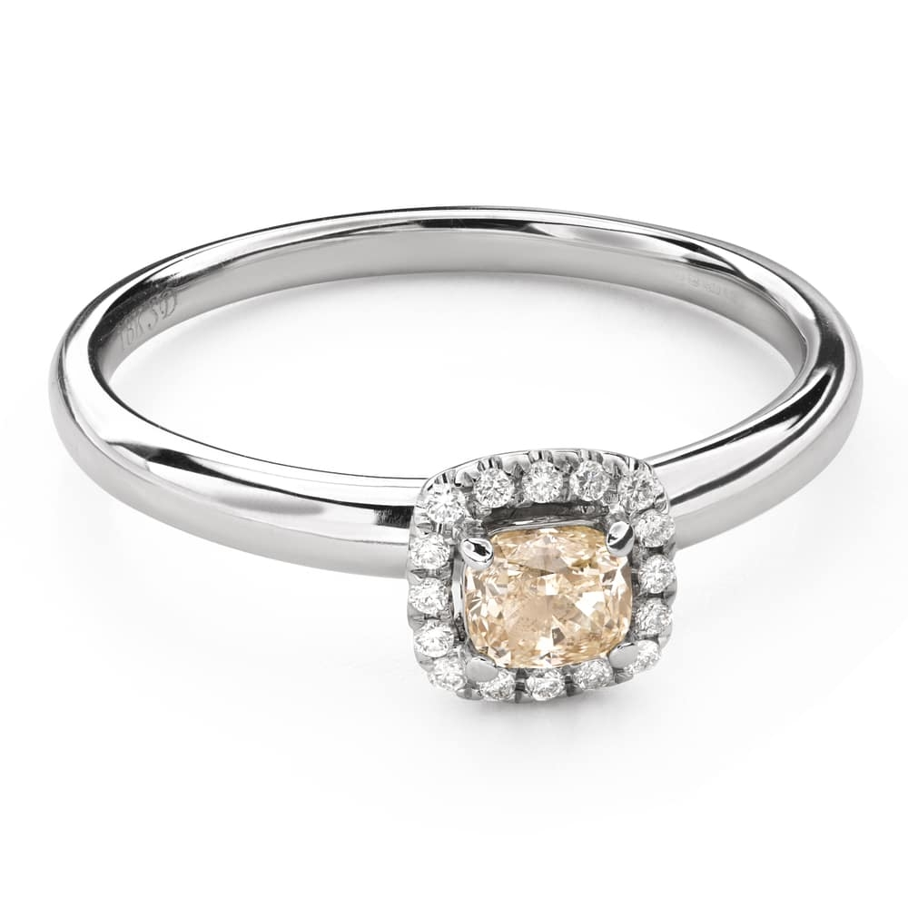 """Engagement ring with diamonds """"Bouquet of diamonds 55"""""""