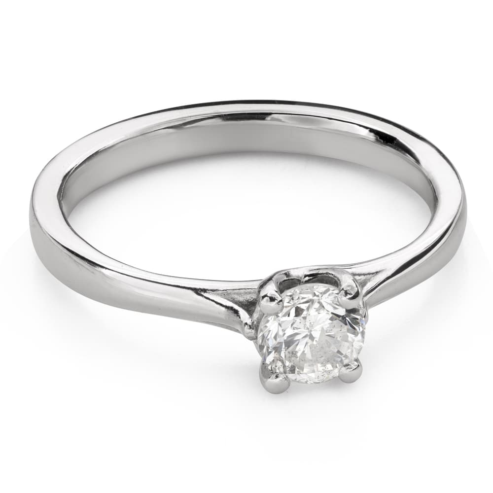 """Engagement ring with brilliant """"Goddess 157"""""""