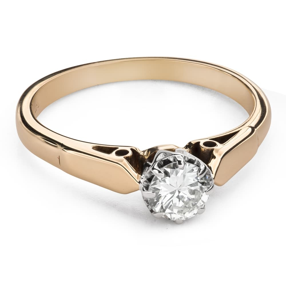 """Engagement ring with brilliant """"The only one 131"""""""