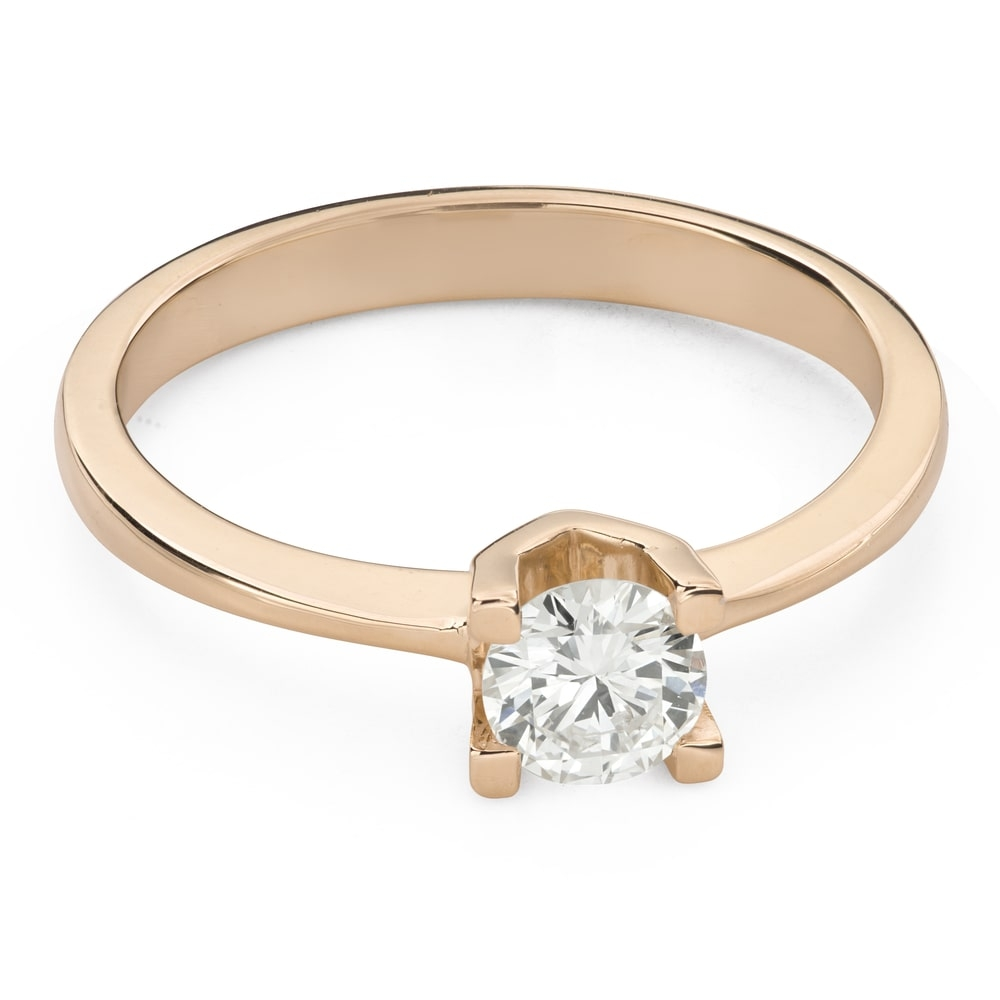"""Engagement ring with brilliant """"Unforgettable 19"""""""
