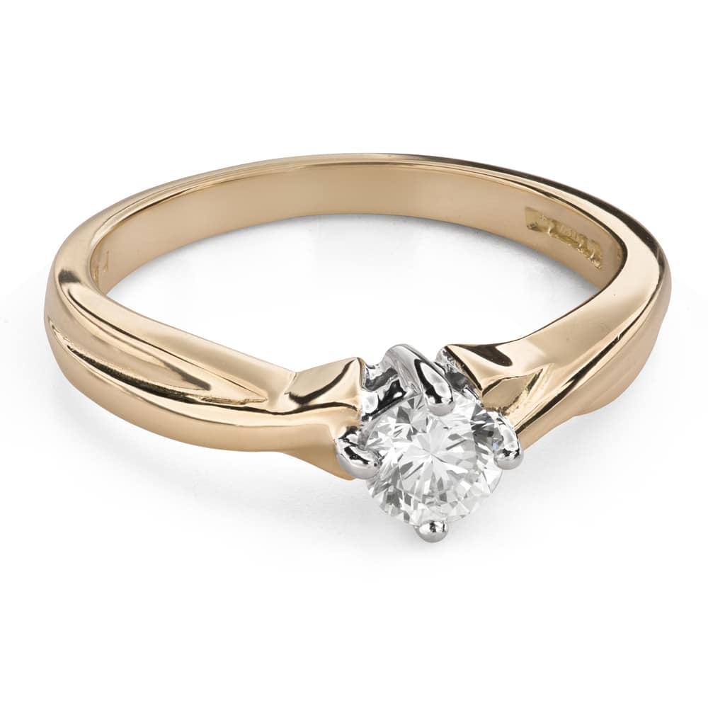 """Engagement ring with brilliant """"Strength 115"""""""