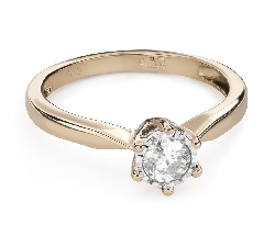 """Engagement ring with brilliant """"Lover 148"""""""