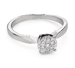 "Engagment ring with brilliants ""Lover 149"""