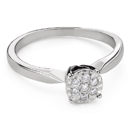 """Engagment ring with brilliants """"Lover 149"""""""