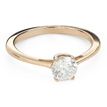"""Engagement ring with brilliant """"Goddess 163"""""""