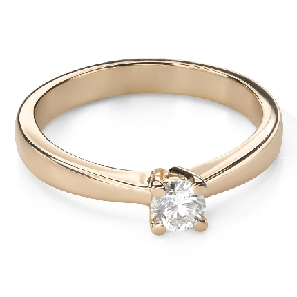 """Engagement ring with brilliant """"Goddess 167"""""""