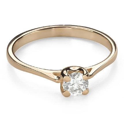 """Engagement ring with brilliant """"Goddess 168"""""""