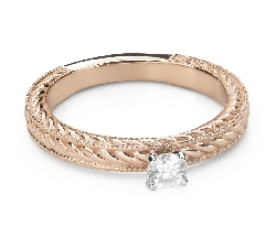 """Engagement ring with brilliant """"Grace 144"""""""