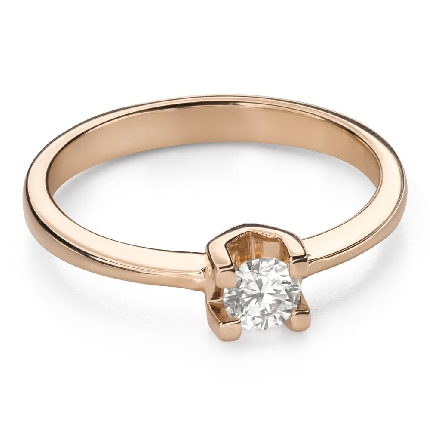 """Engagement ring with brilliant """"Goddess 171"""""""