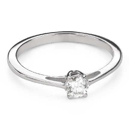 """Engagement ring with brilliant """"Goddess 172"""""""