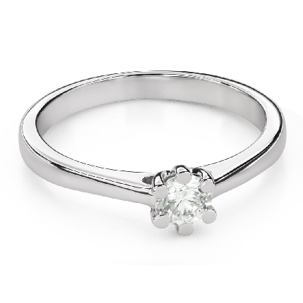 """Engagement ring with brilliant """"The queen 51"""""""