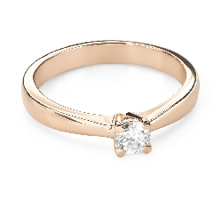 """Engagement ring with brilliant """"Goddess 175"""""""
