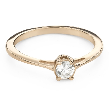 """Engagement ring with brilliant """"Goddess 176"""""""