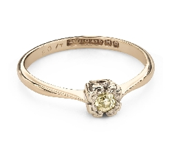"Engagement ring with brilliant ""Lover 151"""