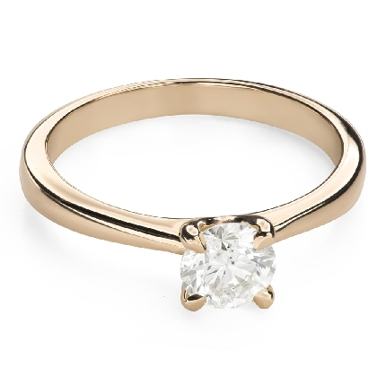 """Engagement ring with brilliant """"Goddess 185"""""""
