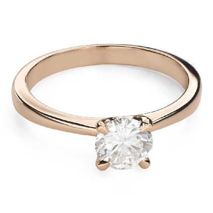 """Engagement ring with brilliant """"Goddess 184"""""""