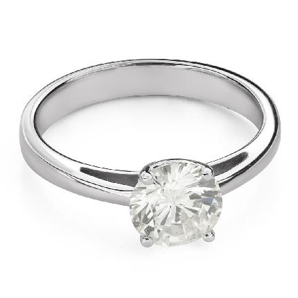 """Engagement ring with brilliant """"Goddess 193"""""""