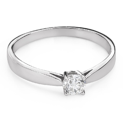 """Engagement ring with brilliant """"Purity 54"""""""