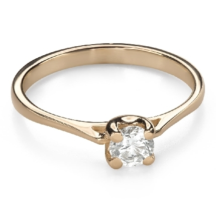 """Engagement ring with brilliant """"Goddess 170"""""""