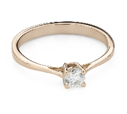 """Engagement ring with brilliant """"Strength 121"""""""