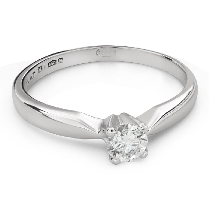 """Engagement ring with brilliant """"Goddess 199"""""""