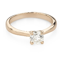 """Engagement ring with brilliant """"Goddess 200"""""""