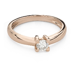"""Engagement ring with brilliant """"Strength 126"""""""