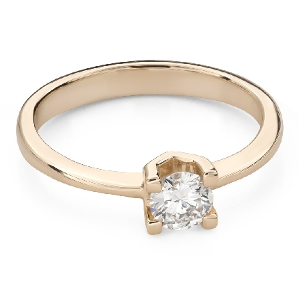 """Engagement ring with brilliant """"Strength 125"""""""