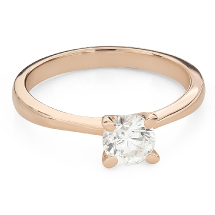 """Engagement ring with brilliant """"Goddess 202"""""""