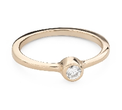 """Engagement ring with brilliant """"Embraced 32"""""""
