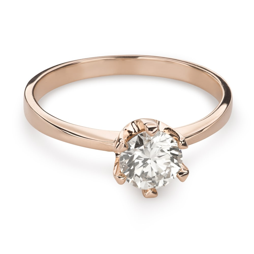 """Engagement ring with brilliant """"Unforgettable 20"""""""