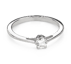 """Engagement ring with brilliant """"Goddess 203"""""""