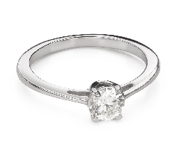 """Engagment ring with brilliants """"Goddess 204"""""""