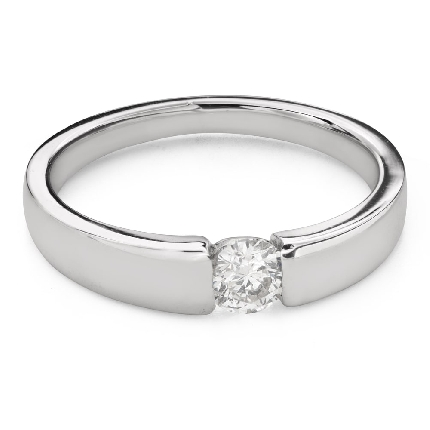 """Engagement ring with brilliant """"Between the rocks 60"""""""