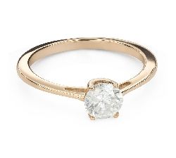 """Engagement ring with brilliant """"Goddess 208"""""""