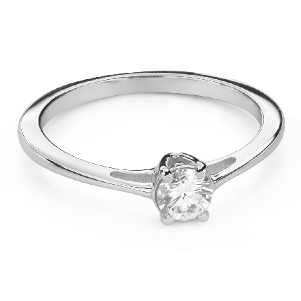 """Engagement ring with brilliant """"Goddess 209"""""""